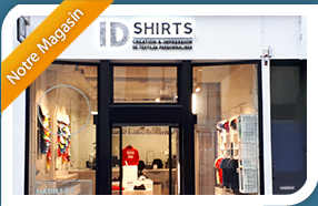 Magasin - Impression T shirt, flocage t-shirt dans le Nord (59) - Tee shirt personnalis� ID Shirts a Lille